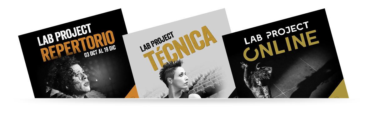Lab Project Repertorio, Lap Project Técnica, Lap Project Online.¿Cómo transformar la dificultad en una oportunidad?