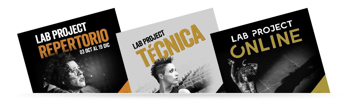 Lab Project Repertorio, Lap Project Técnica, Lap Project Online.¿Cómo transformar la dificultad en una oportunidad?